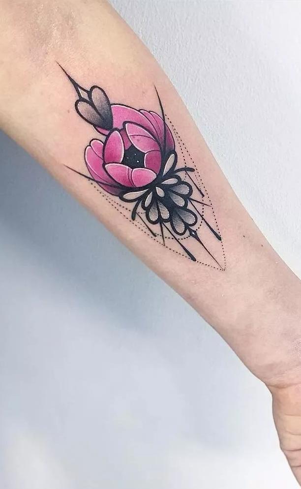 Fotos-de-Tatuagens-femininas-no-antebraço-1