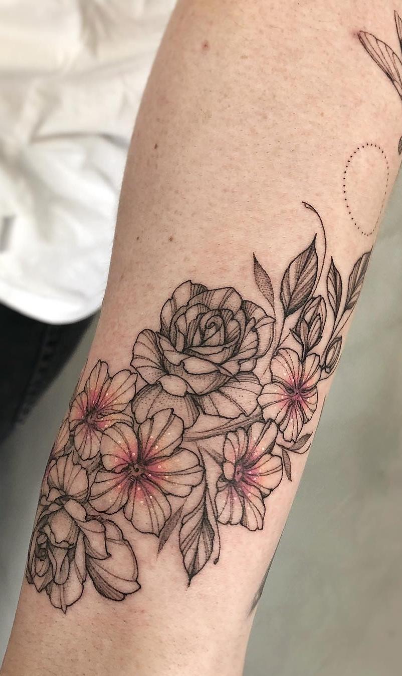 Fotos-de-Tatuagens-femininas-no-antebraço-14