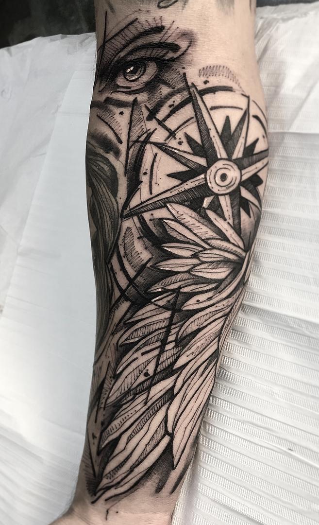 Fotos-de-Tatuagens-femininas-no-antebraço-4