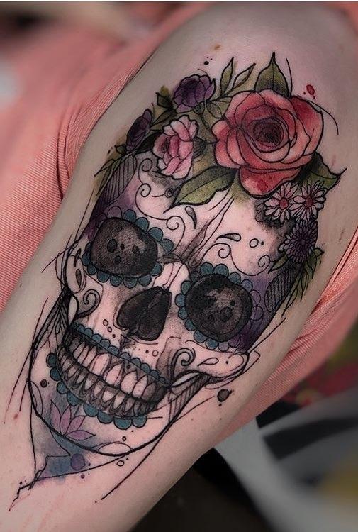 Fotos-de-tatuagens-de-caveira-10