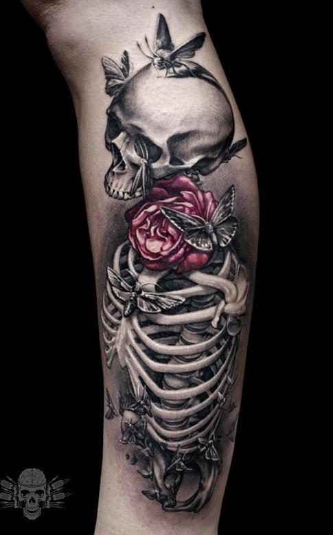 Fotos-de-tatuagens-de-caveira-2