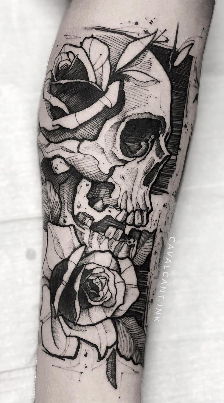 Fotos-de-tatuagens-de-caveira-8