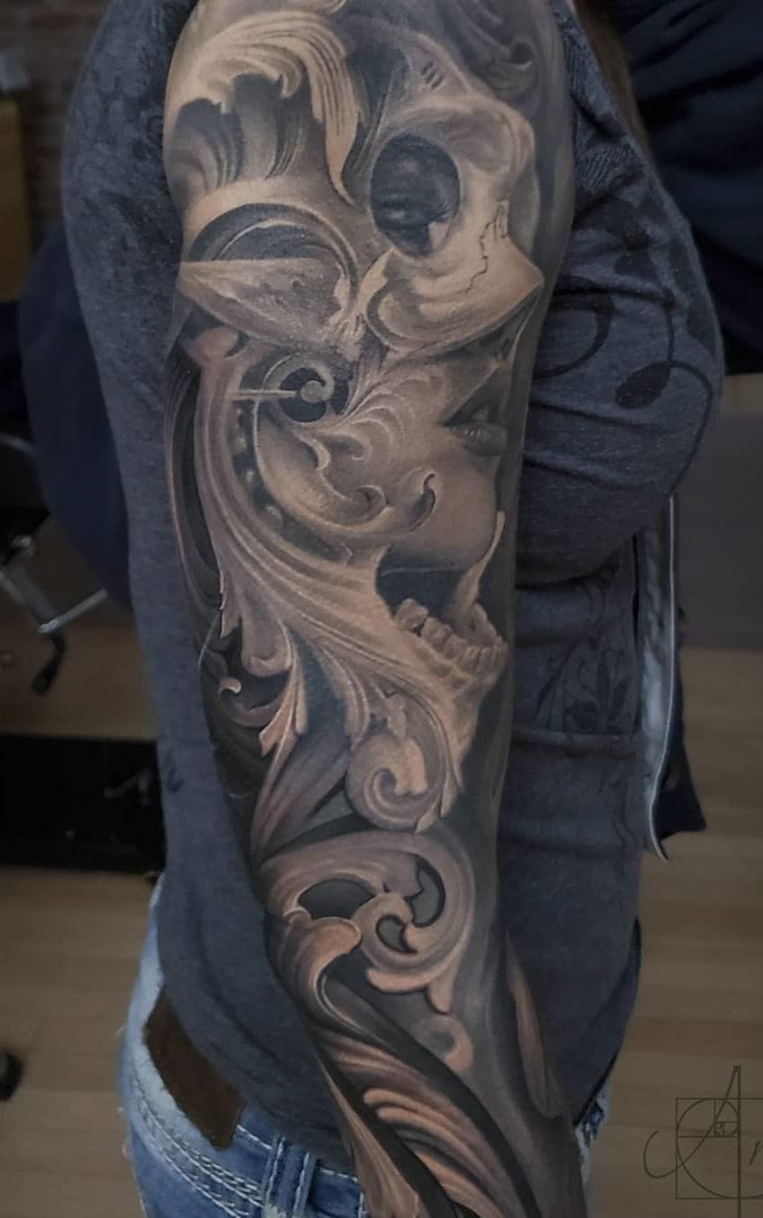 Tatuagens-femininas-de-braço-fechado-12