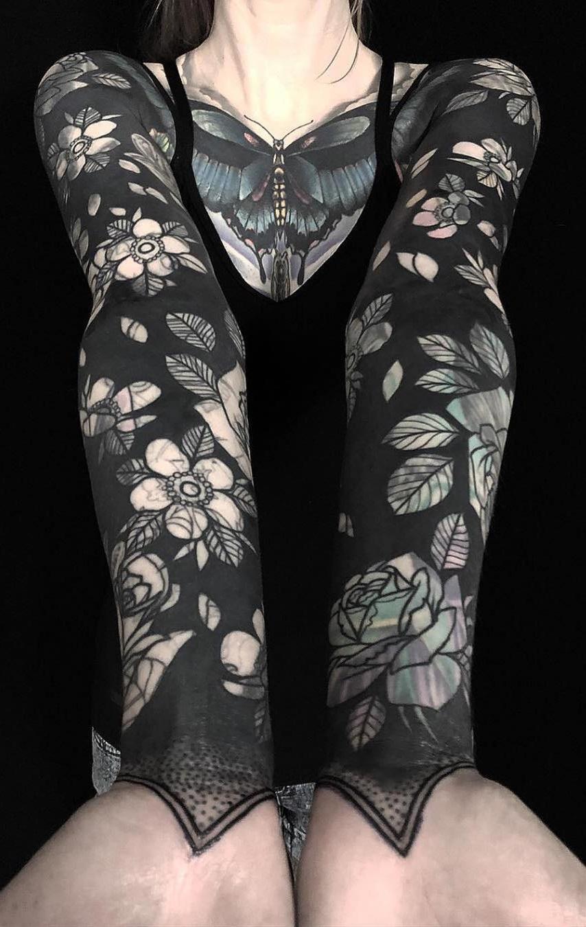 Tatuagens-femininas-de-braço-fechado-6