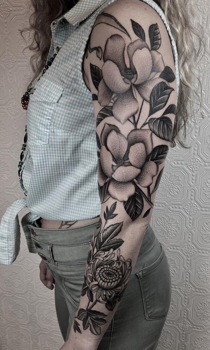 Tatuagens-femininas-de-braço-fechado-9