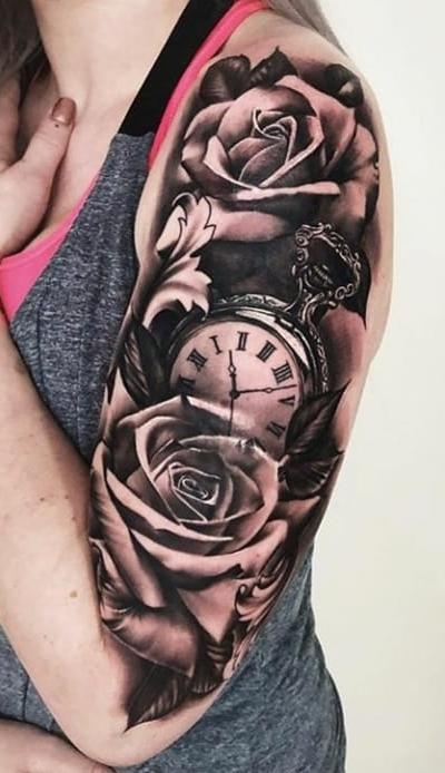 Tatuagens-femininas-na-parte-superior-do-braço-2