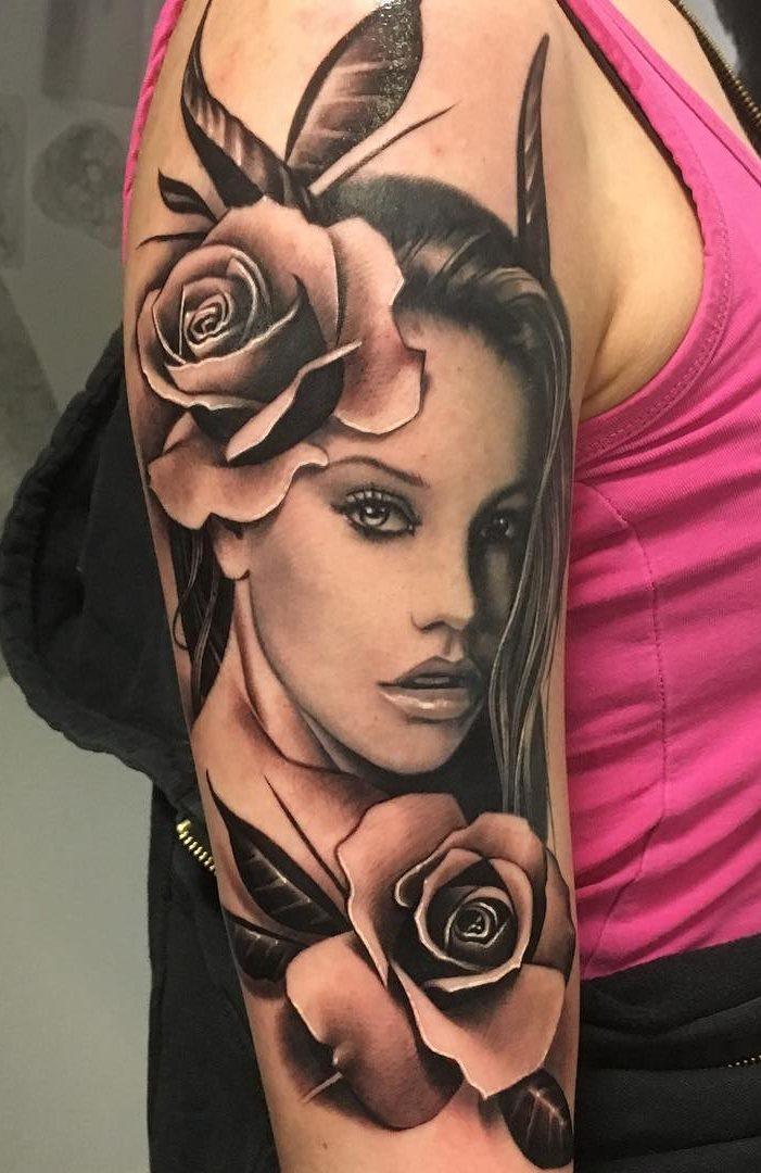 Tatuagens-na-parte-superior-do-braço-feminino-9