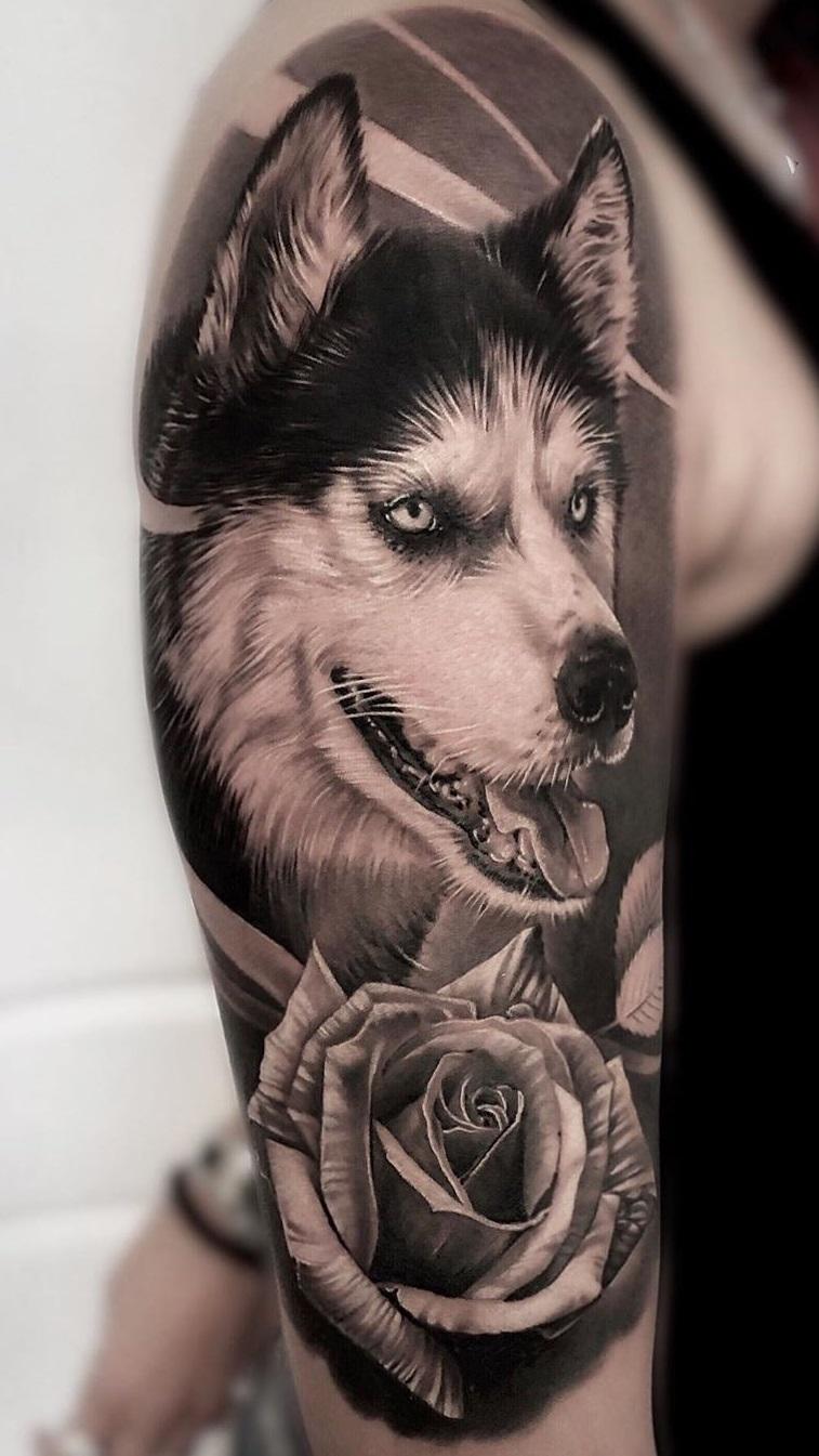 tatuagem-de-cachorro