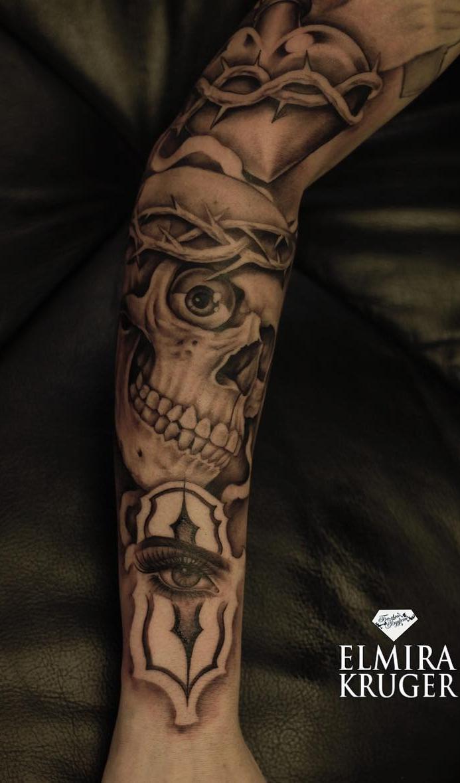 tatuagem-de-caveira-feminina-2