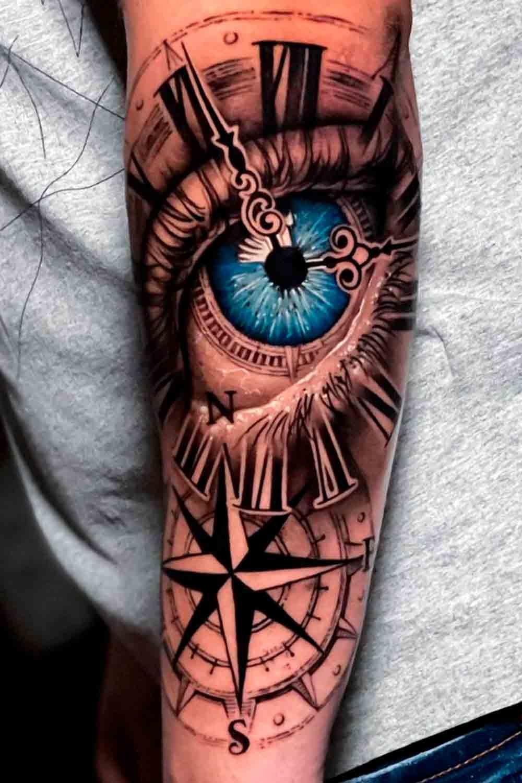 tatuagem-de-olho-no-antebraco