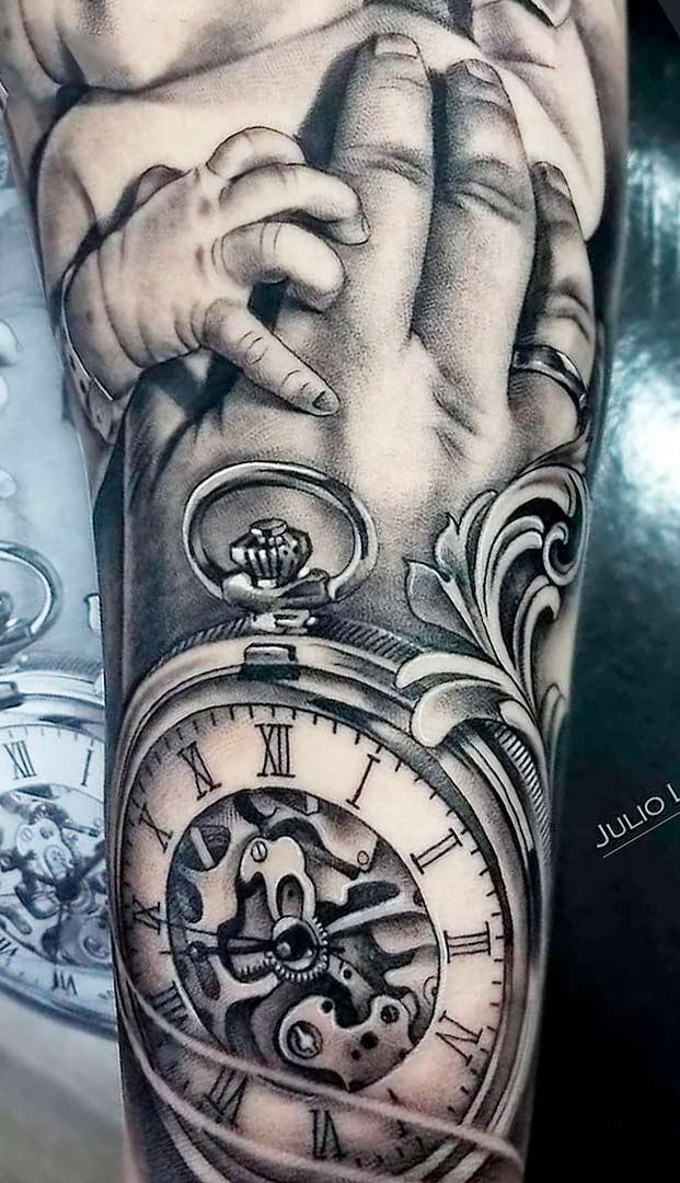 tatuagem-de-relogio