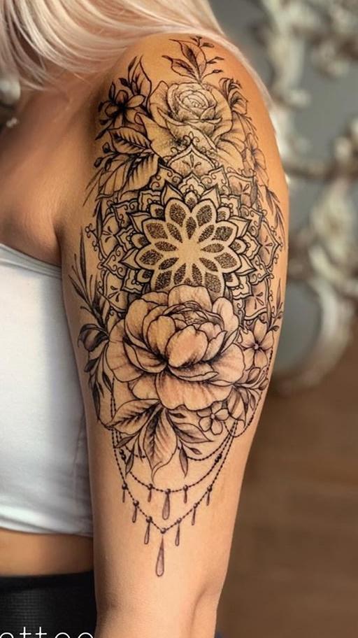 tatuagem-na-parte-superior-do-braço-feminino