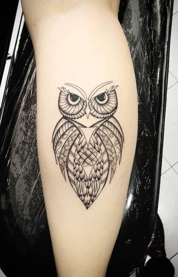 Tatuagens-femininas-de-coruja-10
