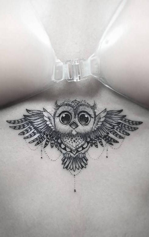 Tatuagens-femininas-de-coruja-11