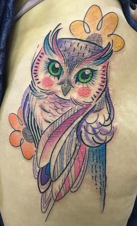 Tatuagens-femininas-de-coruja-12