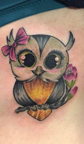 Tatuagens-femininas-de-coruja-19