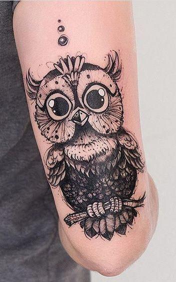 Tatuagens-femininas-de-coruja-21