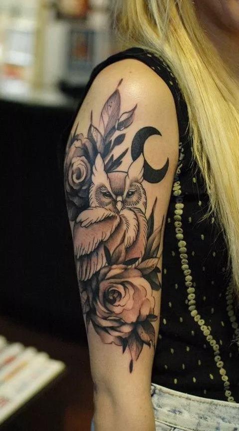 Tatuagens-femininas-de-coruja-23