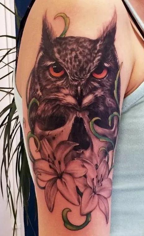 Tatuagens-femininas-de-coruja-26