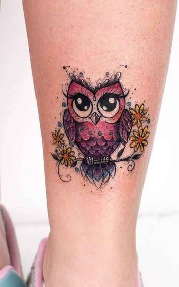 Tatuagens-femininas-de-coruja-35