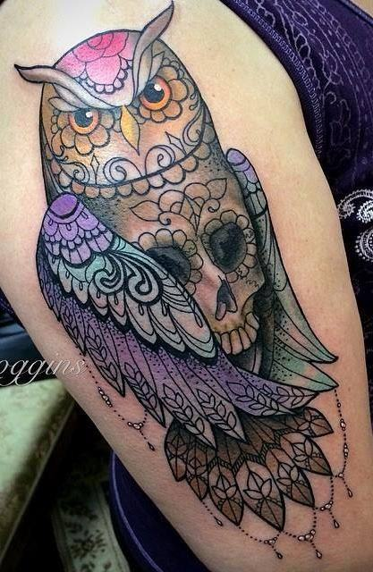 Tatuagens-femininas-de-coruja-39