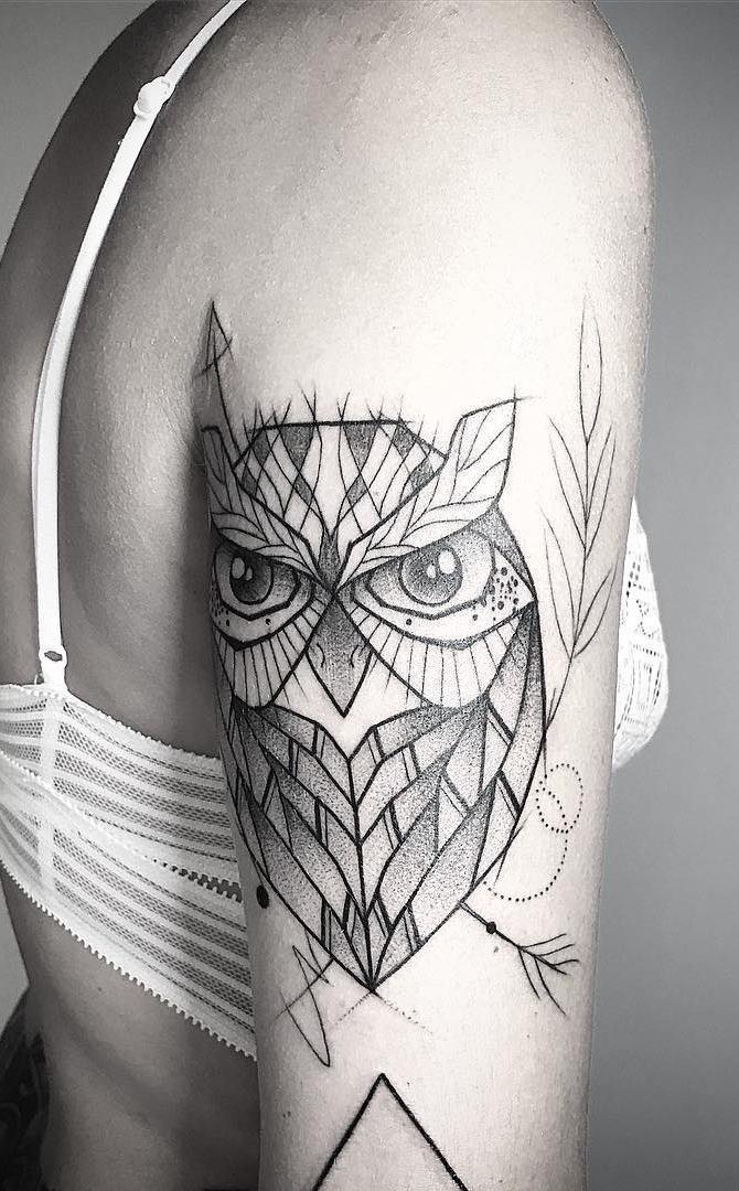 Tatuagens-femininas-de-coruja-42