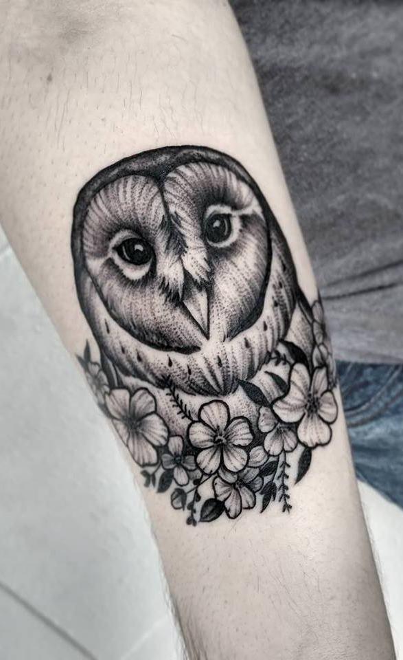 Tatuagens-femininas-de-coruja-44