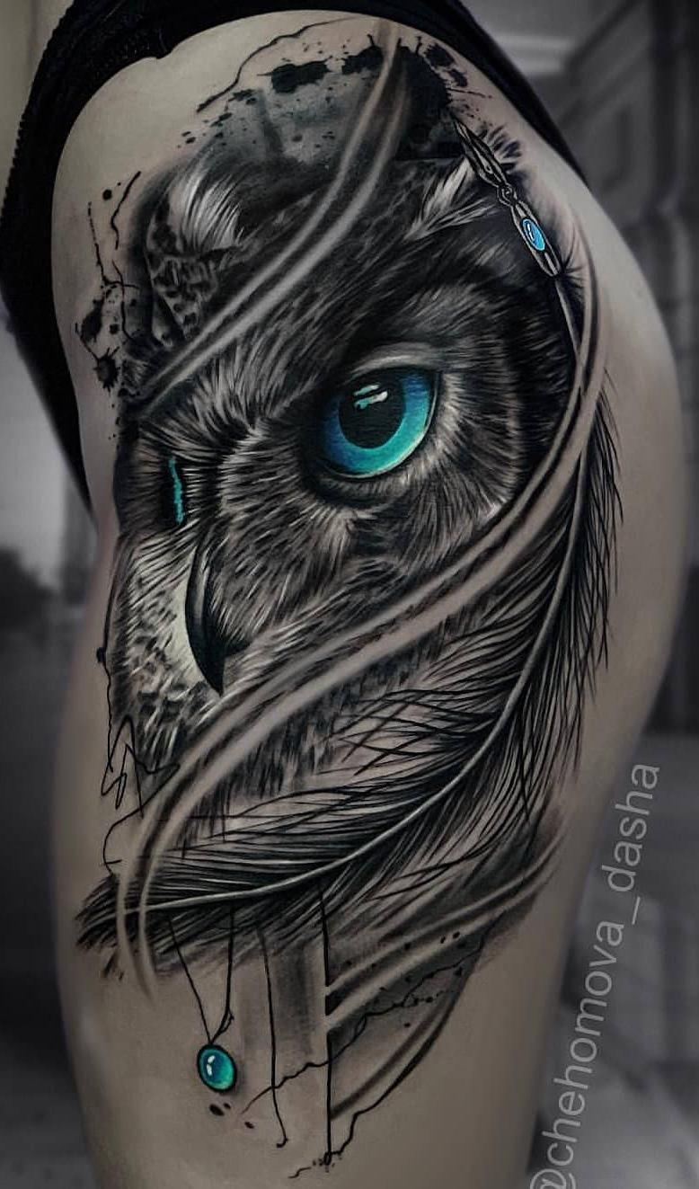 Tatuagens-femininas-de-coruja-46