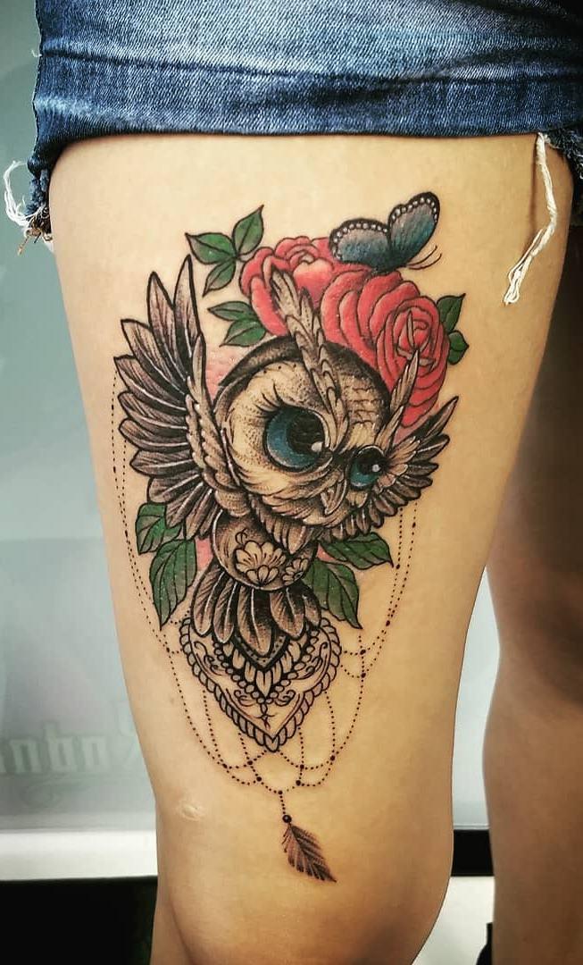 Tatuagens-femininas-de-coruja-47