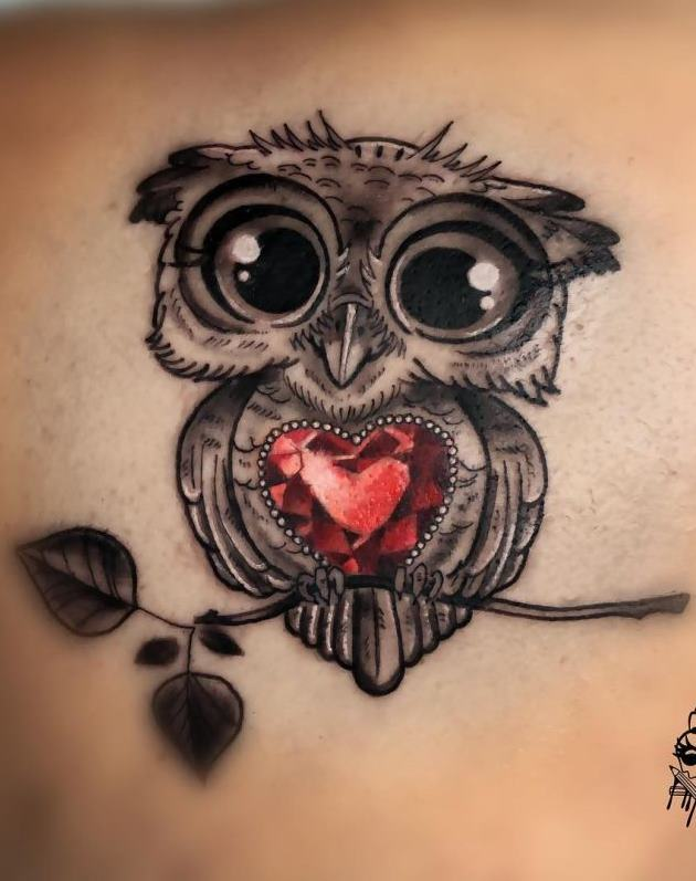 Tatuagens-femininas-de-coruja-55