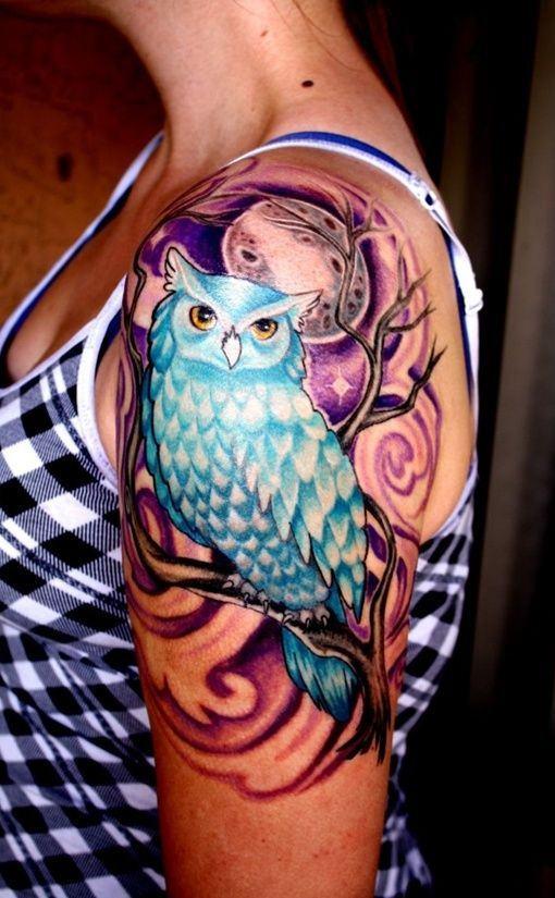 Tatuagens-femininas-de-coruja-56