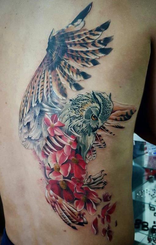 Tatuagens-femininas-de-coruja-58