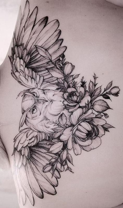 Tatuagens-femininas-de-coruja-62
