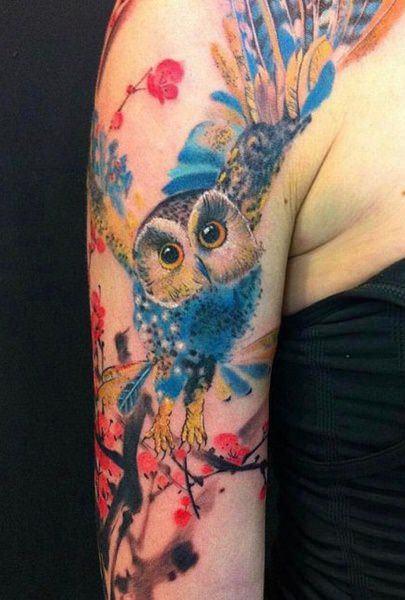 Tatuagens-femininas-de-coruja-69