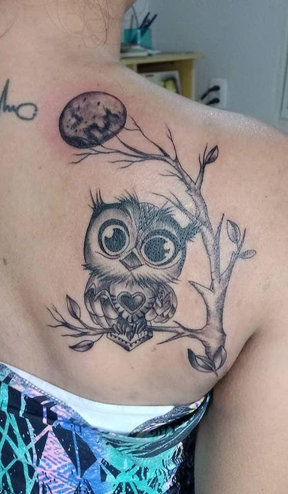 Tatuagens-femininas-de-coruja-7