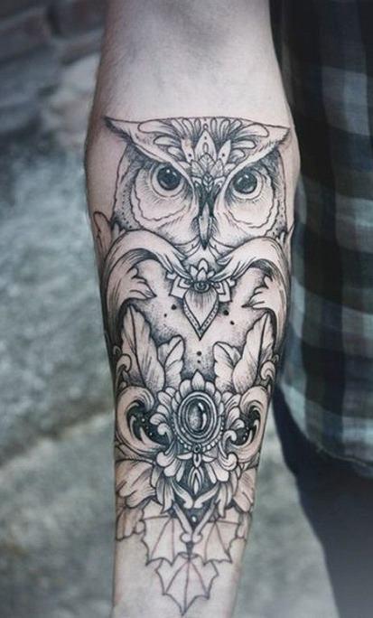 Tatuagens-femininas-de-coruja-73