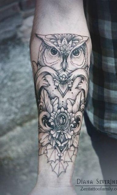 Tatuagens-femininas-de-coruja-81