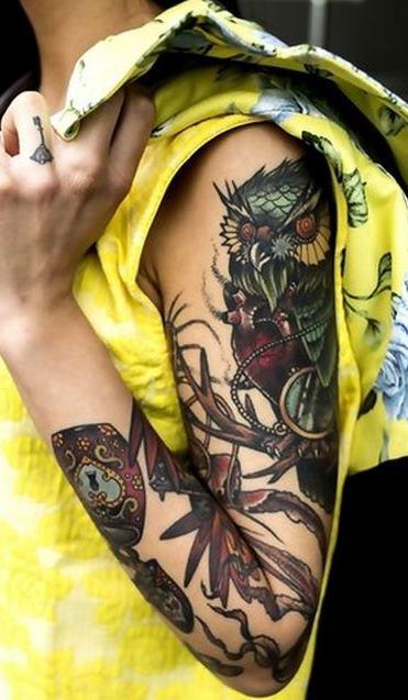 Tatuagens-femininas-de-coruja-84