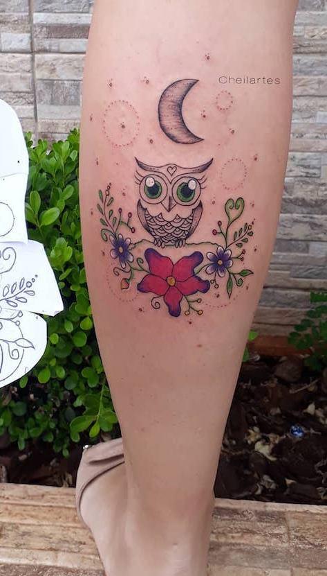 Tatuagens-femininas-de-coruja-94