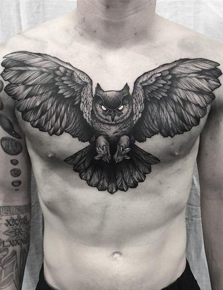 Tatuagens-masculinas-de-coruja-23