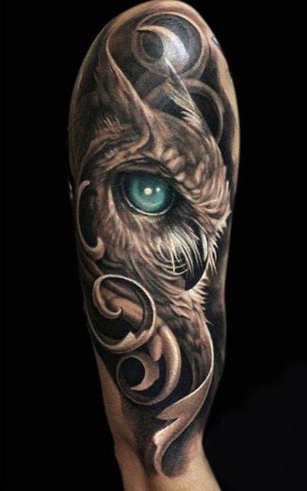 Tatuagens-masculinas-de-coruja-31