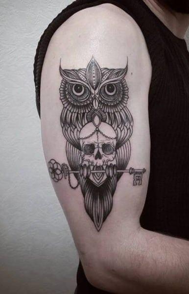 Tatuagens-masculinas-de-coruja-36