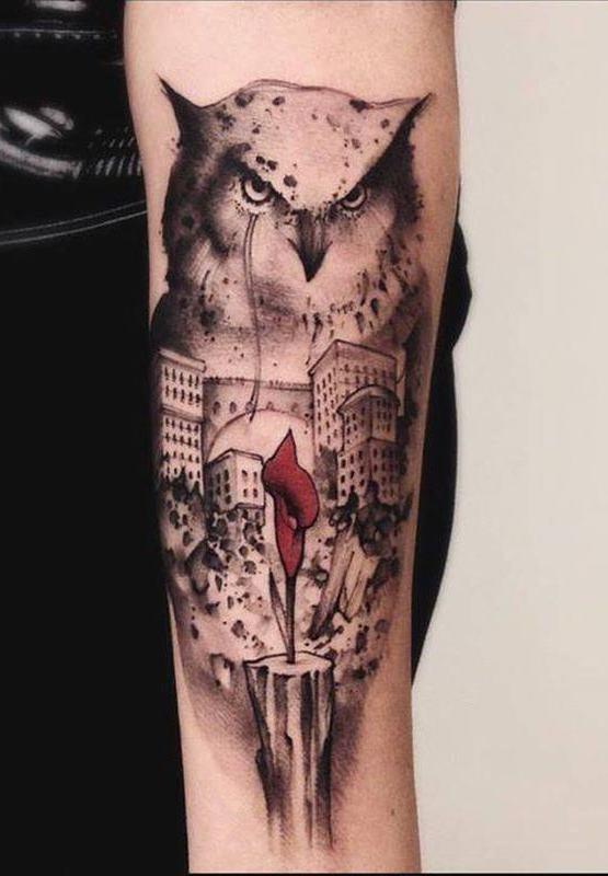Tatuagens-masculinas-de-coruja-38