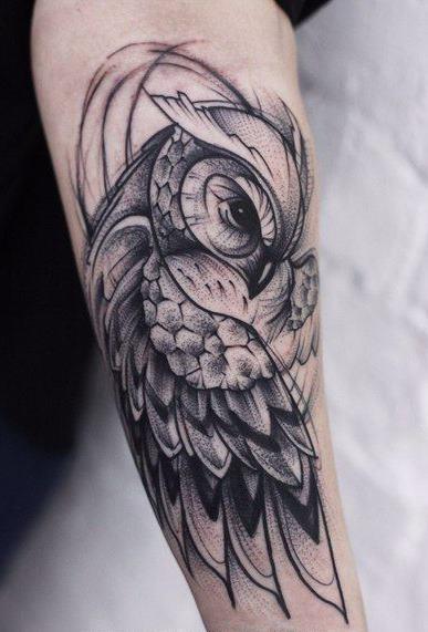 Tatuagens-masculinas-de-coruja-44