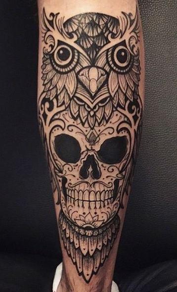 Tatuagens-masculinas-de-coruja-47