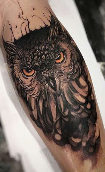 Tatuagens-masculinas-de-coruja-56