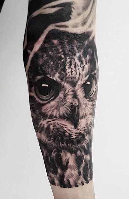 Tatuagens-masculinas-de-coruja-60