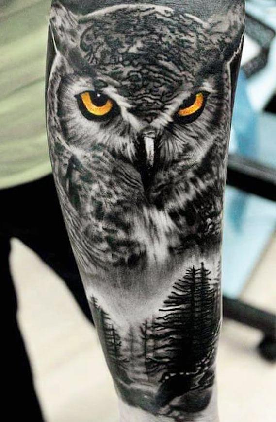 Tatuagens-masculinas-de-coruja-66
