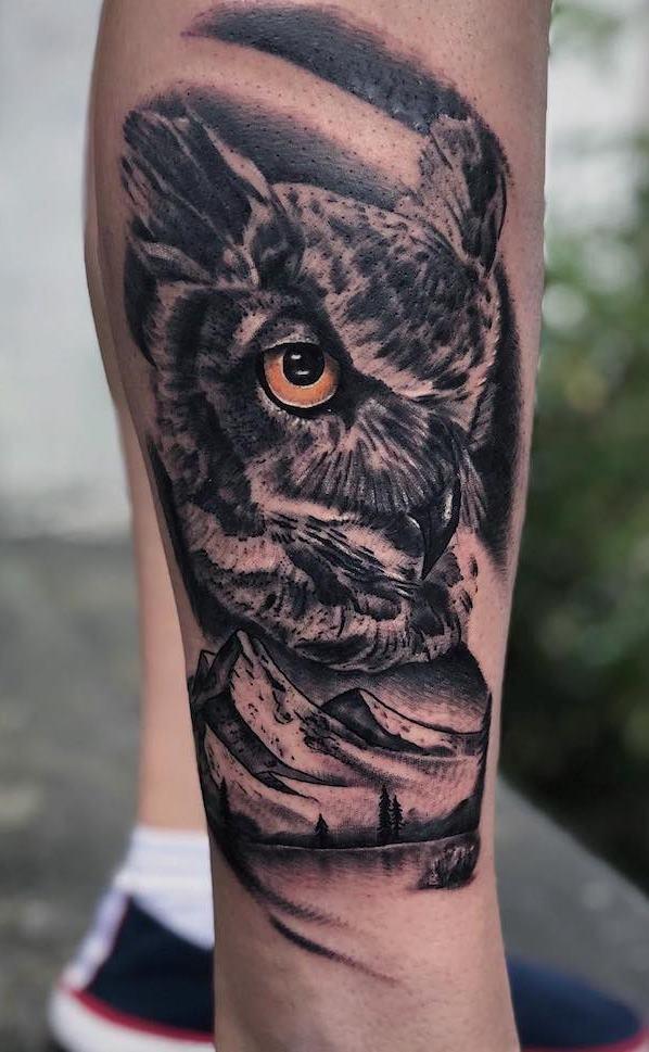 Tatuagens-masculinas-de-coruja-68