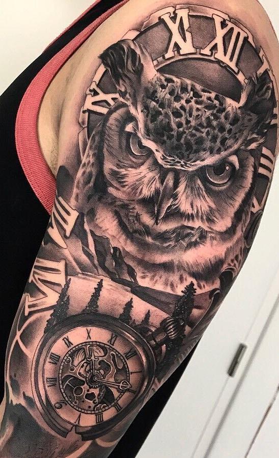 tatuagem-masculina-de-coruja